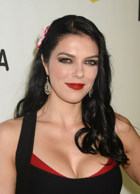 TV Personality Adrianne Curry attends Spike TV's 10th Annual Video Game Awards at Sony Pictures Studios on December 7, 2012 in Culver City, California. (Photo by Paul Archuleta/FilmMagic)