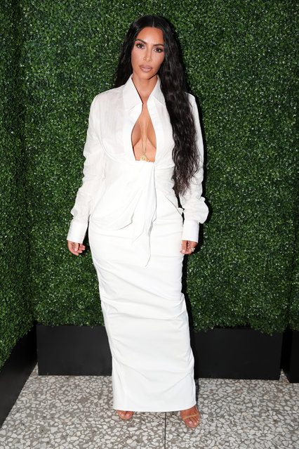 Kim Kardashian West attends the BoF West Summit at Westfield Century City on June 18, 2018 in Century City, California. (Photo by Christopher Polk/Getty Images for The Business of Fashion)
