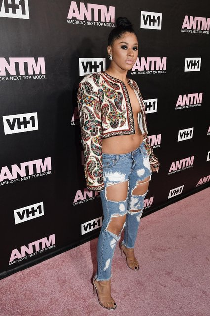 Hennessy attends the VH1 America's Next Top Model premiere party at Vandal on December 8, 2016 in New York City. (Photo by Bryan Bedder/Getty Images for VH1)