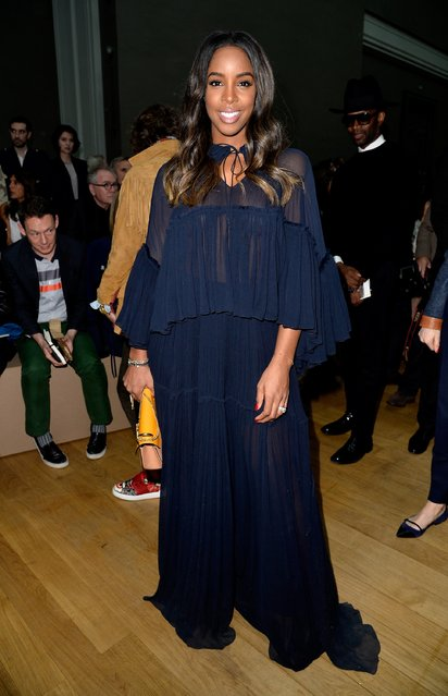 PARIS, FRANCE - MARCH 08: Singer Kelly Rowland attends the Chloe show as part of the Paris Fashion Week Womenswear Fall/Winter 2015/2016 on March 8, 2015 in Paris, France.  (Photo by Pascal Le Segretain/Getty Images)