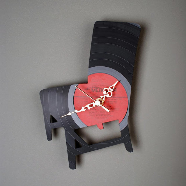 Vinyl Clock By Pavel Sidorenko Part 2