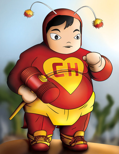Fat Super Heroes