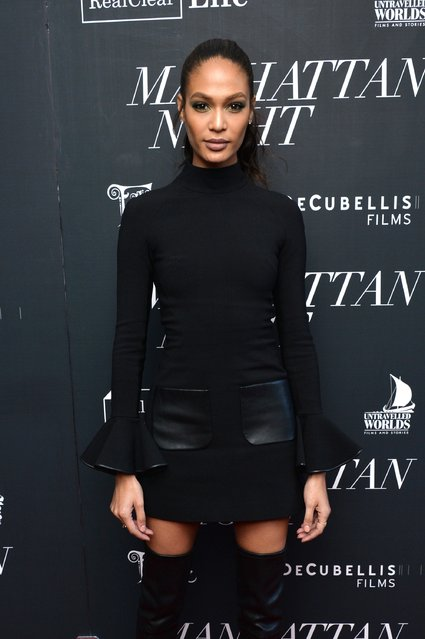 "Model Joan Smalls attends the ""Manhattan Night"" New York screening on May 16, 2016 in New York, New York. (Photo by Andrew Toth/Getty Images)"