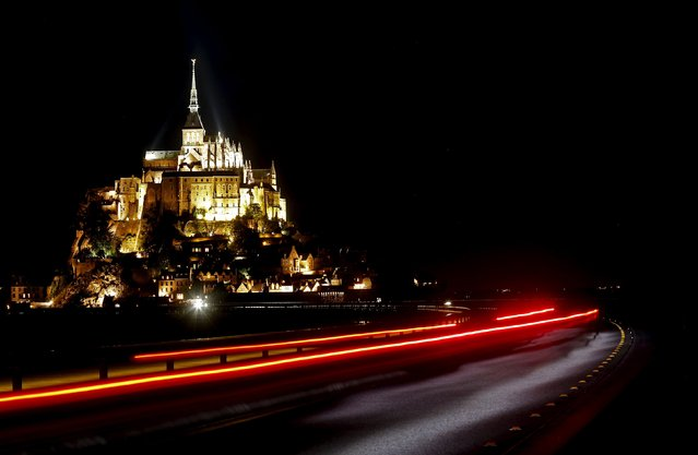 General view of the Mont Saint-Michel in the French western region of Normandy, July 23, 2015. (Photo by Jacky Naegelen/Reuters)