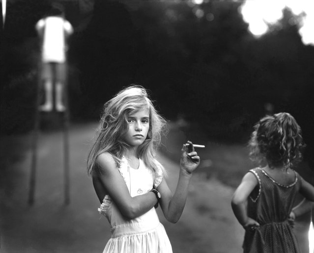 Candy Cigarette, 1989. (Photo by Sally Mann)