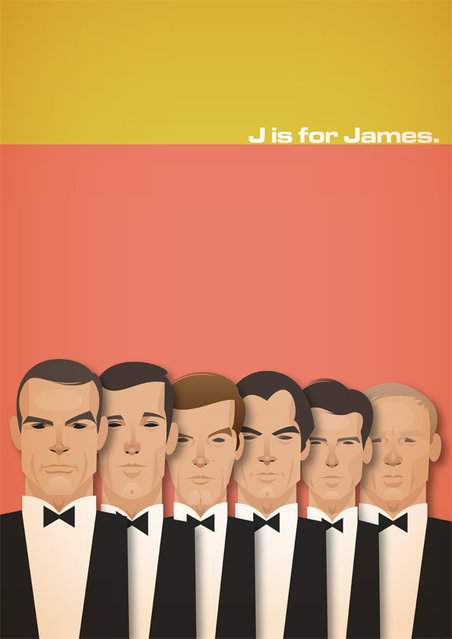J is for James