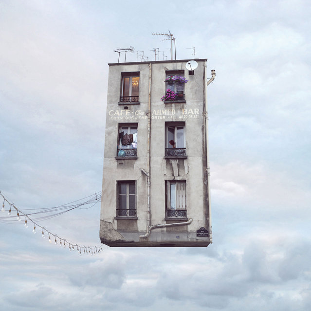 """Laurent Chehere's """"Flying Houses"""": """"Couscous"""". (Photo by Laurent Chehere)"""