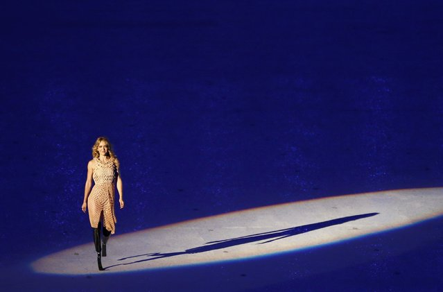 2016 Rio Paralympics, Opening ceremony, Maracana, Rio de Janeiro, Brazil on September 7, 2016. Amy Purdy takes part in the opening ceremony. (Photo by Carlos Garcia Rawlins/Reuters)