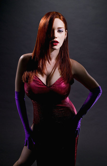 Ruby Rocket as Jessica Rabbit. (Photo by Jay B. Sauceda)
