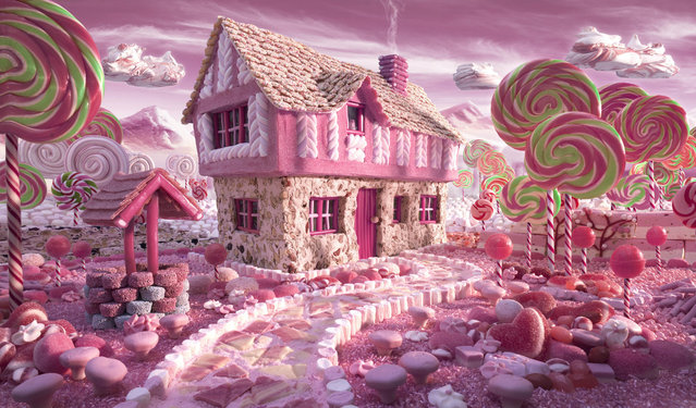 """Candy Cottage"". (Photo by Carl Warner)"