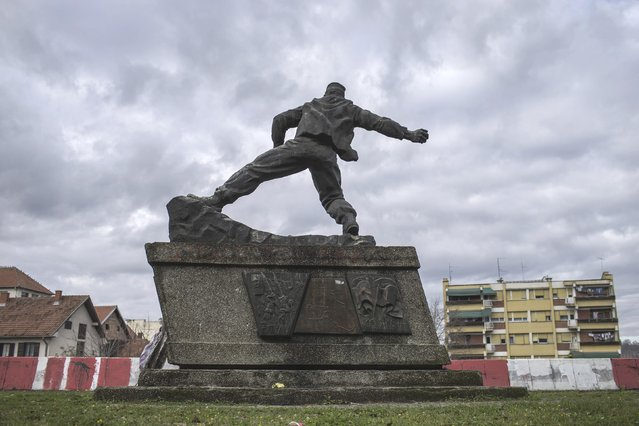 """General view of the memorial monument """"For Bombers"""" in Ljig, Serbia, November 17, 2014. (Photo by Marko Djurica/Reuters)"""