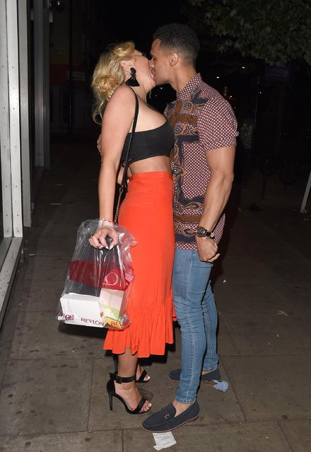 Aisleyne Horgan-Wallace seen attending the UK Love Island 2018 launch screening at Fest Camden on June 4, 2018 in London, England. (Photo by Splash News and Pictures)