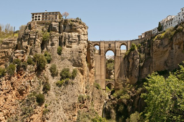 The Amazing Rock City In Spain