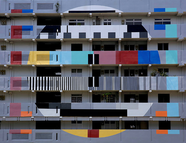 A public housing block is seen in Singapore September 23, 2018. Picture taken September 23, 2018. (Photo by Thomas White/Reuters)