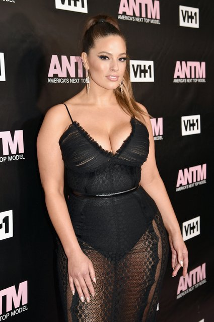 Model and ANTM Judge, Ashley Graham attends the VH1 America's Next Top Model premiere party at Vandal on December 8, 2016 in New York City. (Photo by Bryan Bedder/Getty Images for VH1)