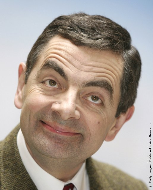 Rowan Atkinson in character as Mr Bean