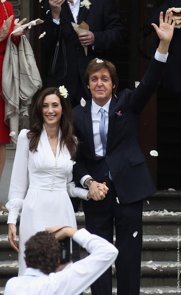 Sir Paul McCartney and Nancy Shevell – Wedding