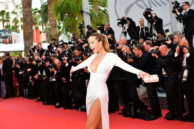 "Petra Nemcova attends the ""Loveless (Nelyubov)"" screening during the 70th annual Cannes Film Festival at Palais des Festivals on May 18, 2017 in Cannes, France. (Photo by Venturelli/WireImage)"
