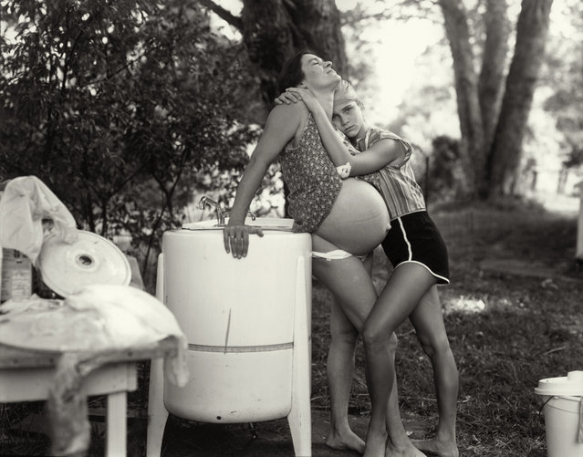 At Twelve Portraits of Young Women, 1983-85. (Photo by Sally Mann)