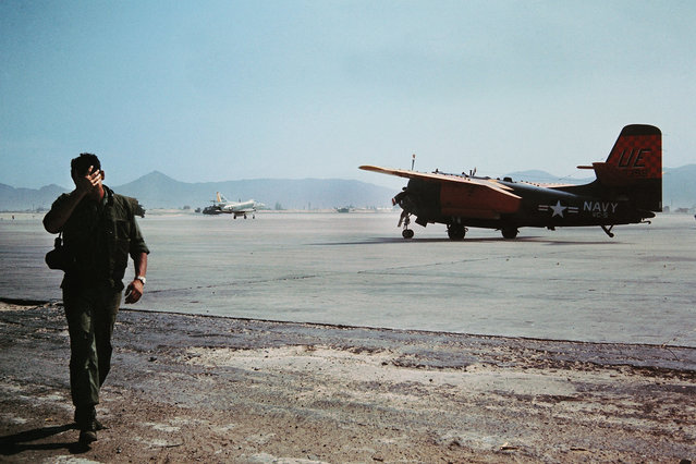 A photo of a runway in Vietnam from the collection of C.R. Foster. (Photo by C.R. Foster/The Vietnam Slide Project)