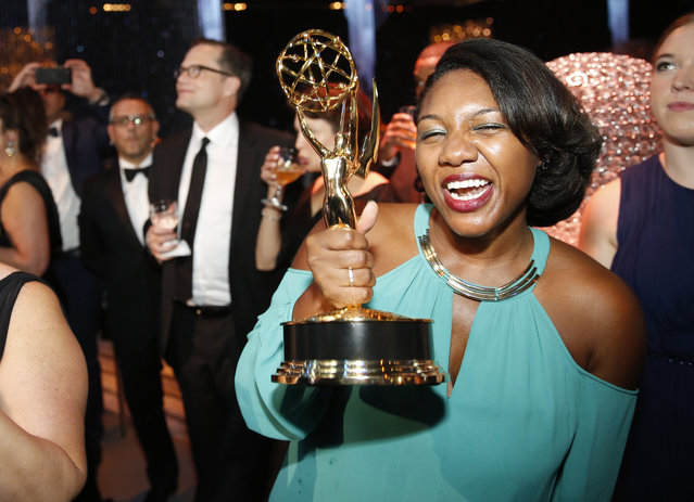 Felica Daniels attends the Governors Ball for the Television Academy's Creative Arts Emmy Awards at Microsoft Theater on Saturday, September 12, 2015, in Los Angeles. (Photo by Colin Young-Wolff/Invision for the Television Academy/AP Images)