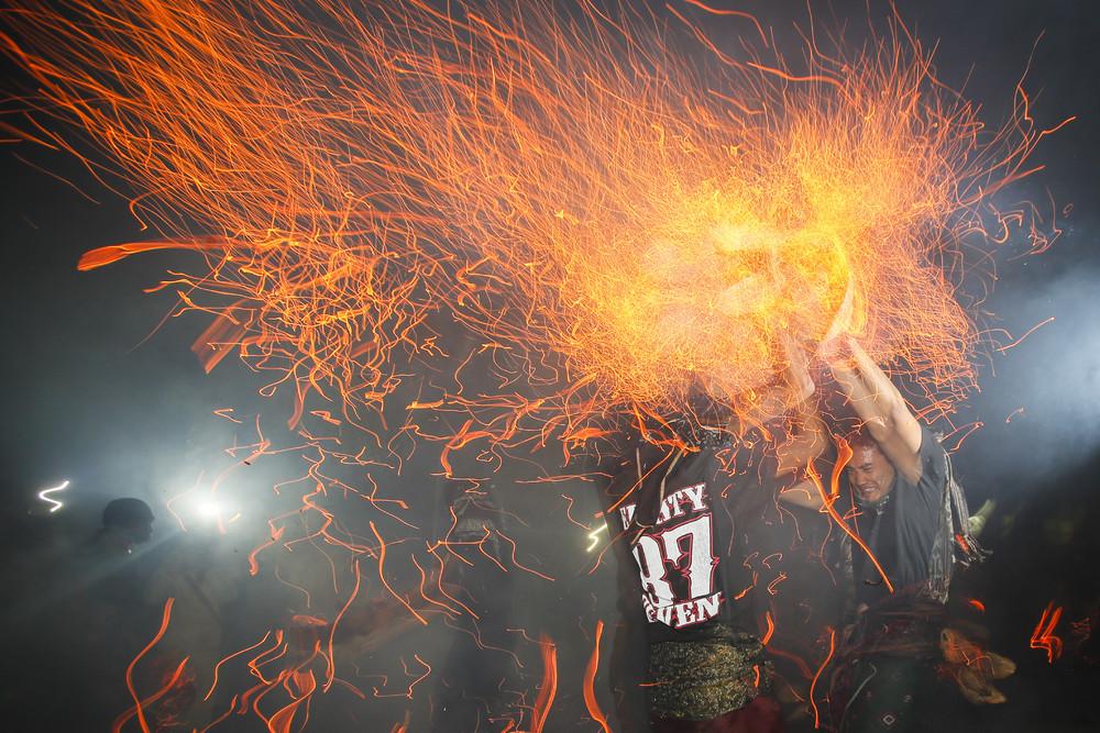 Ritual Firefighting in Indonesia