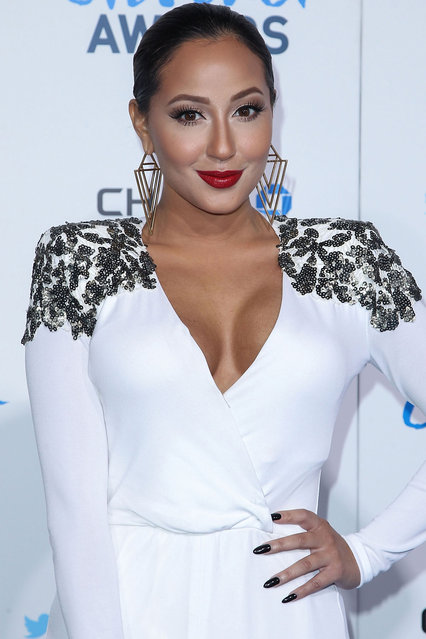 Actress/singer Adrienne Bailon arrives at the 2nd Annual American Giving Awards at the Pasadena Civic Auditorium on December 7, 2012 in Pasadena, California. (Photo by Gregg DeGuire/WireImage)