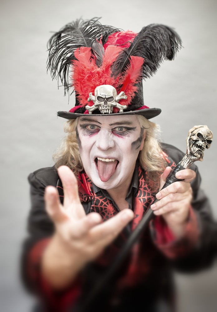 Circus of Horrors Prepare for their Halloween Performances
