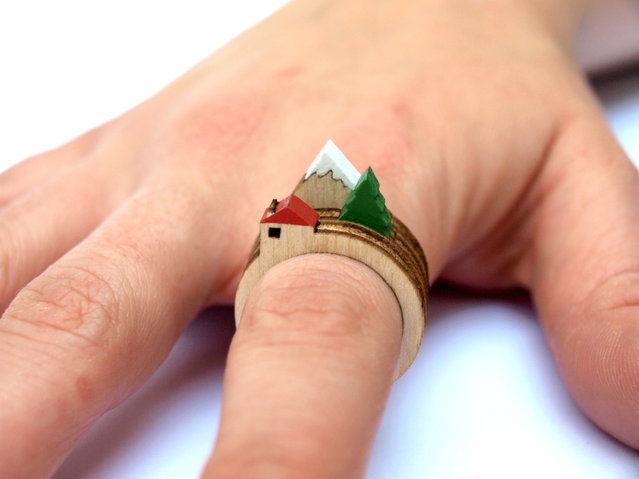 Awesome Ring By Clive Roddy