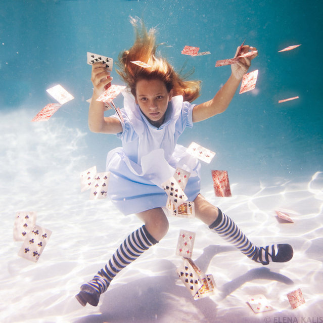 """""""Alice in Waterland"""" by Photographer Elena Kalis"""