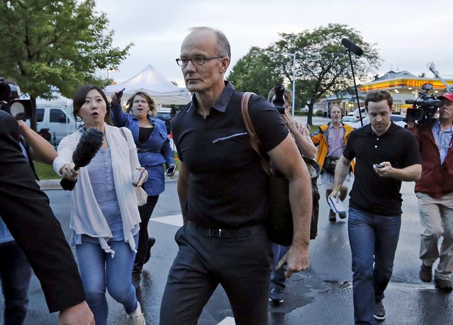 Minnesota dentist Walter Palmer faced a firestorm of protests in July after he was identified publicly as the big game hunter who had killed the rare black-maned lion, Cecil, a popular tourist attraction in Zimbabwe. Pictured in Bloomington, Minnesota, September 8, 2015. (Photo by Eric Miller/Reuters)