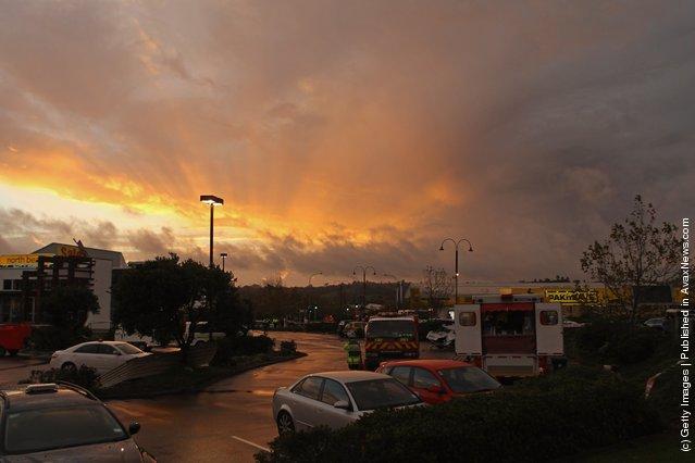 Tornado Strikes Auckland