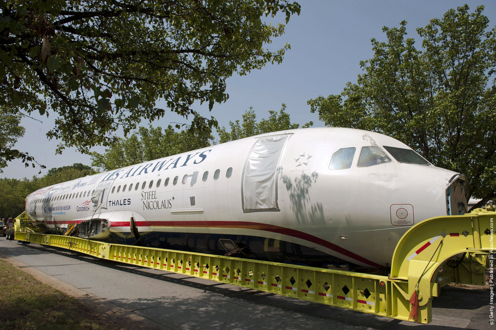 «Miracle On The Hudson» Plane Arrives In Charlotte