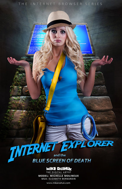 The Internet Browser Series By Mike Roshuk