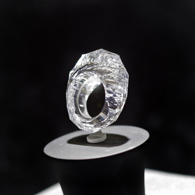 The World's First ALL Diamond Ring