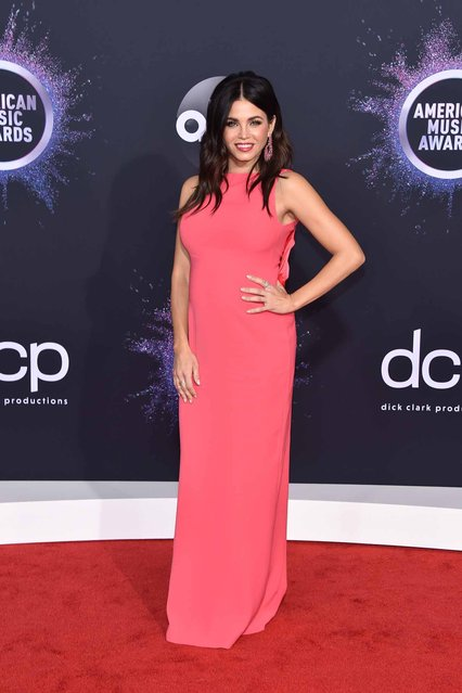 Jenna Dewan attends the 2019 American Music Awards at Microsoft Theater on November 24, 2019 in Los Angeles, California. (Photo by John Shearer/Getty Images for dcp)