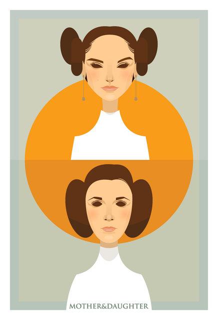 Padme & Leia