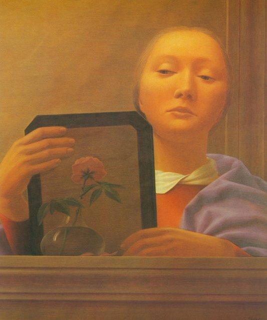 Mirror IV. Artwork by George Tooker