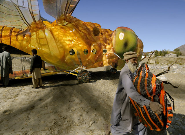 Dragonlarvae Beetlefly lands the precious payload ahead of schedule. (Kenny Hassan Irwin)