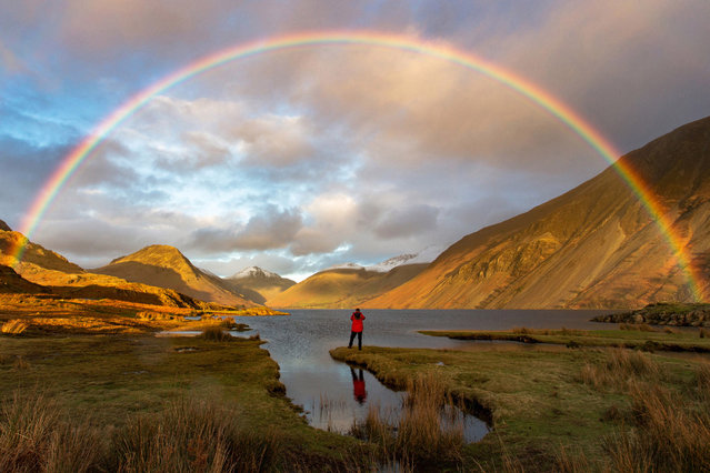 "A selection of prizewinning images from the Take a View 2016 photography awards. Here: Finding Gold, taken in Wast Water in Cumbria, which won the Great Britain #OMGB ""Home of Amazing Moments"" award. (Photo by Mark Gilligan/PA Wire)"