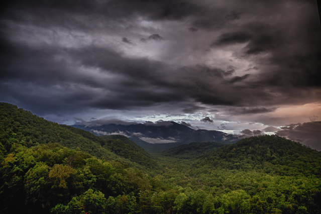 Sunset Over the Smokies. (Photo by Stephen Lee)