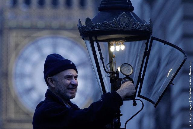 Gas Street Lamps