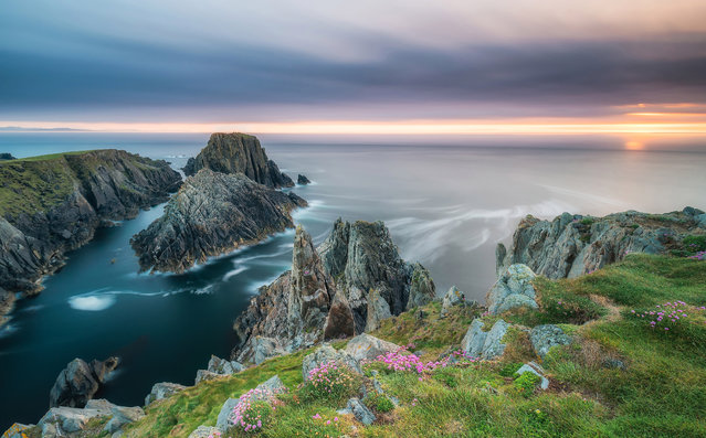 Malin Head in Northern Ireland. (Photo by Alessio Putzu/Caters News Agency)