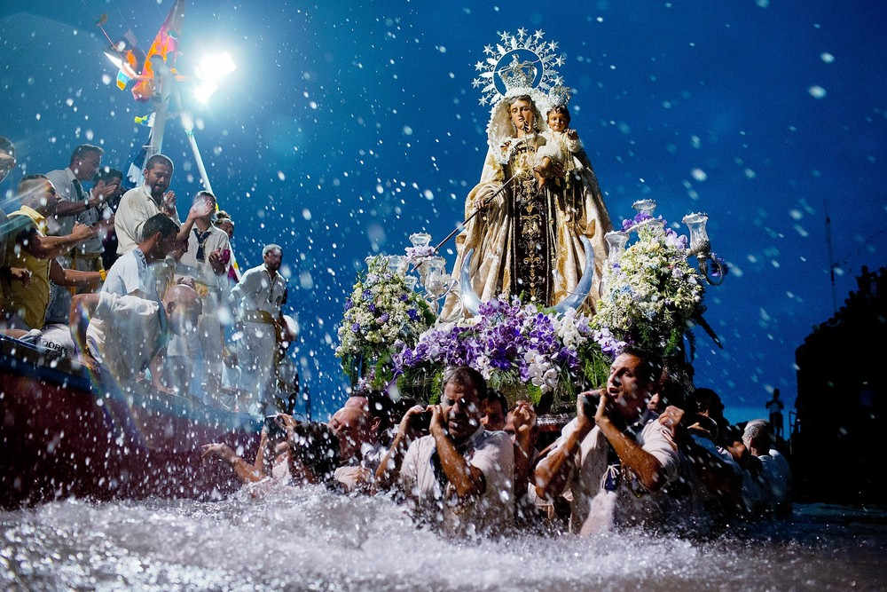 Virgen Del Carmen Procession in Tenerife