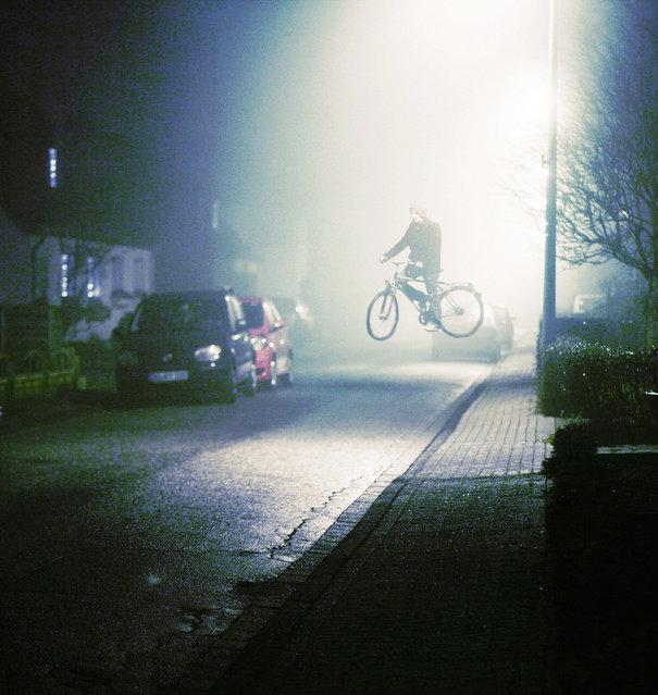Flight of the night. (Photo by Phillip Schumacher)
