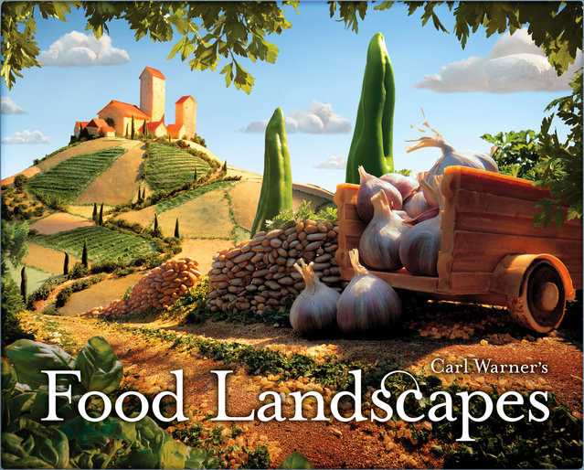 """Food Landscapes (Tuscan Landscape)"". (Photo by Carl Warner)"