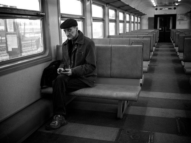 """Leaving Riga..."". (Thomas Leuthard)"