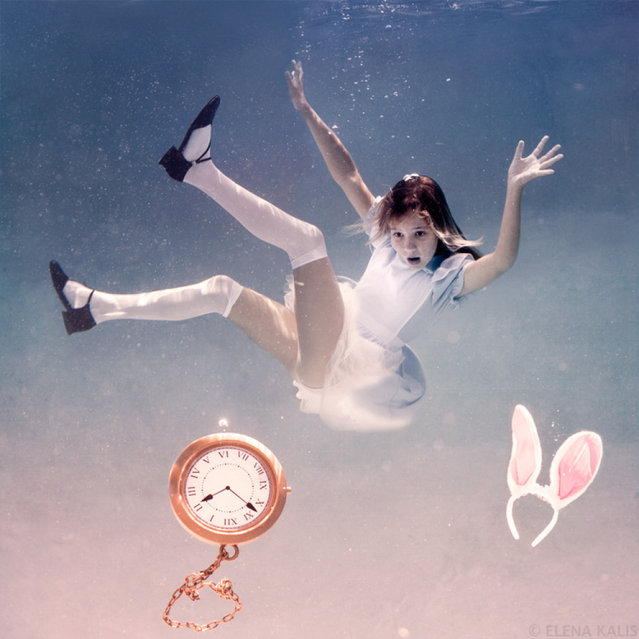 """Alice in Waterland"" by Photographer Elena Kalis"
