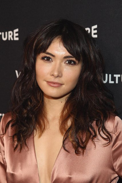 Daniella Pineda attends the Vulture Awards Season Party at Sunset Tower Hotel on December 8, 2016 in West Hollywood, California. (Photo by Tommaso Boddi/Getty Images for New York Magazine)