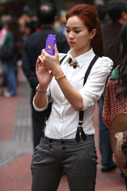 """Suspense"". Hong Kong, 2012. (Asian (Street) Impressions)"